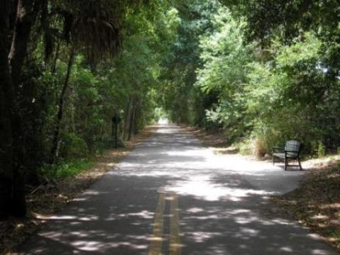 Cady Way Trail, Orlando biking