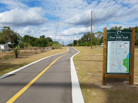 Pine Hills Trail, Orlando biking, Orange County