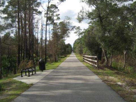 East Central Regional Rail Trail - Central Florida biking