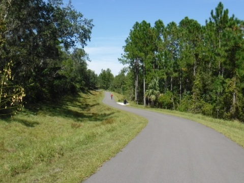 Spring-to-Spring Trail, Orlando biking, Volusia County